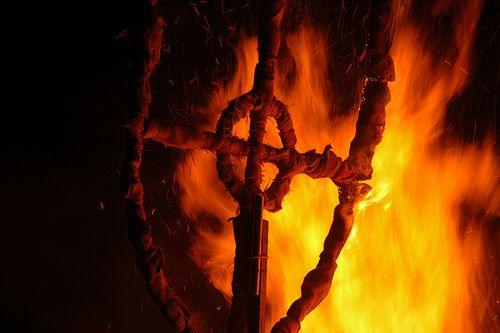 Lewes bonfire night 2008