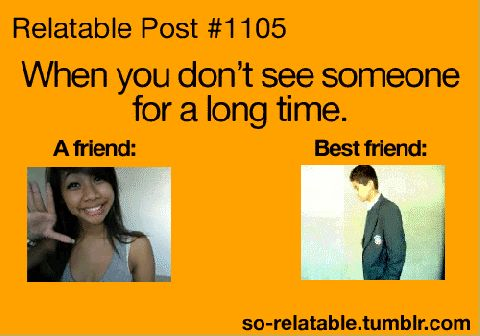 Lol so true....but it could not be cos I have no friends