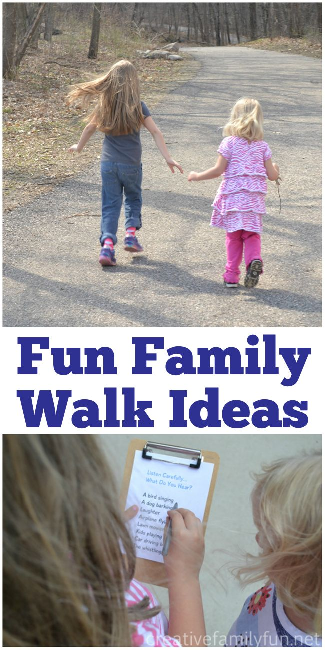 10 Fun Walk Ideas For Families Fun Walk Walk Idea Outdoor Fun For Kids