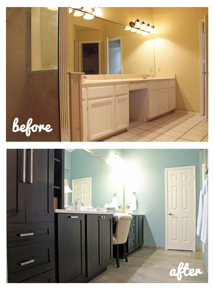 17 best images about before and after remodeling on for Master bath renovation