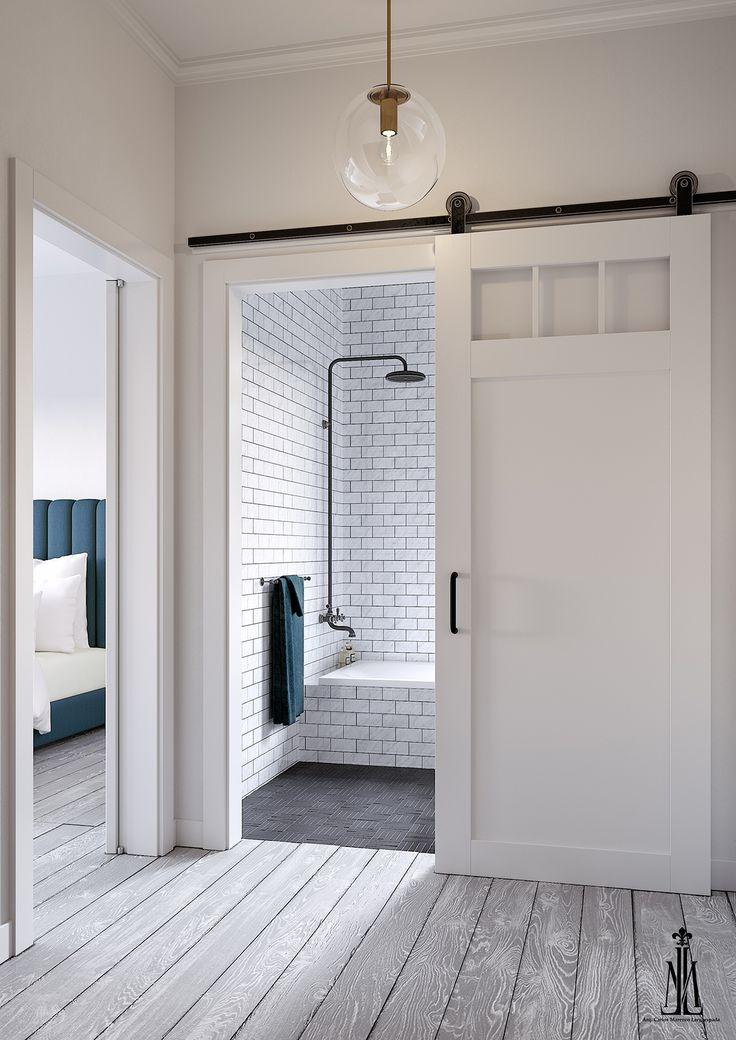 Les 12 meilleures images à propos de Bathroom sur Pinterest - Porte De Placard Chambre