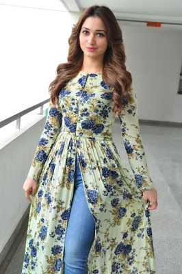 "High Quality Bollywood Celebrity Pictures: Tamannaah Bhatia Looks Super Sexy At ""Baahubali"" Promotional Interview In Hyderabad"
