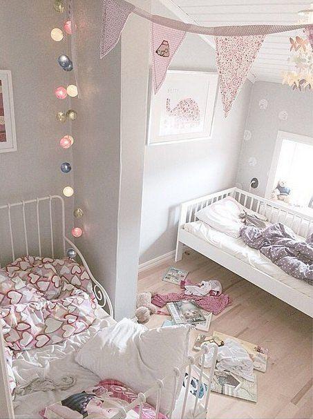 Une chambre à la déco douce....