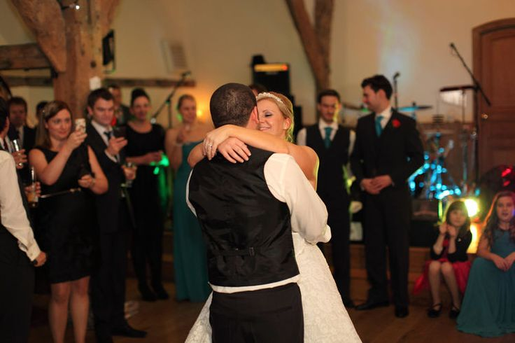 The first dance at Winters Barns