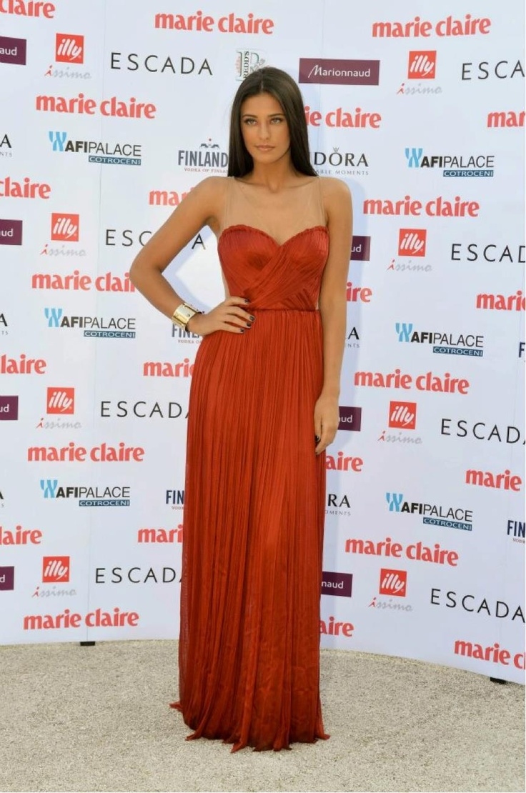 Fashion antonia iacobescu red dresses evening outfits gowns abiye
