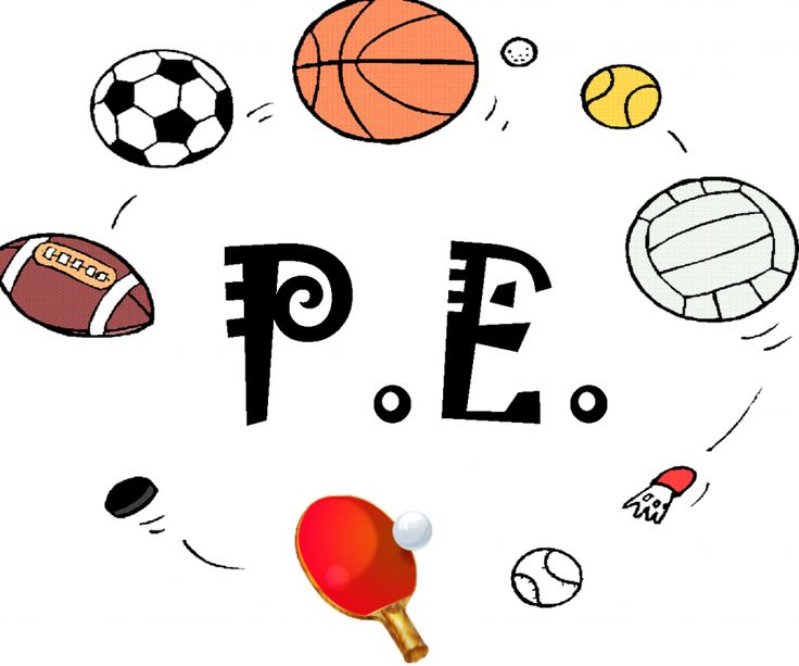 Education clipart, Physical education, Physical education games