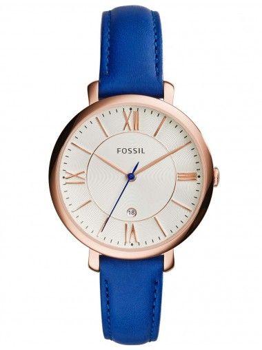 Fossil Ladies Jacqueline Blue Watch ES3795