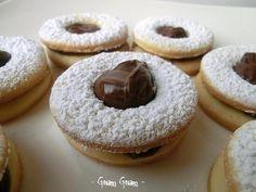 Biscotti occhio di bue alla nutella | Ricetta