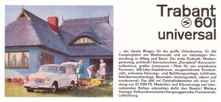 Trabant 601 universal prospekt 1965