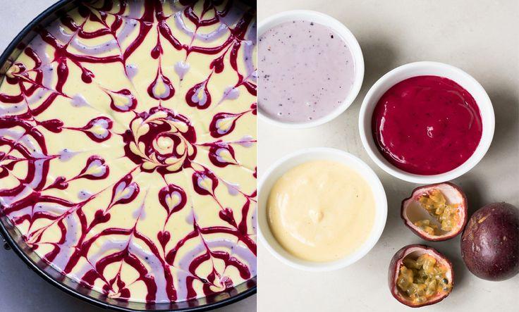 Recept: Raw food-tårta med passionsfrukt och citronbotten - Metro Mode Hälsa