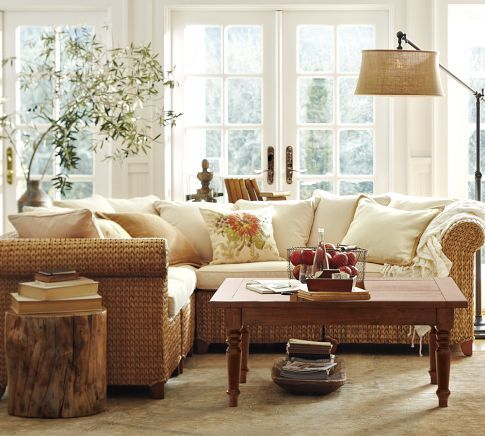 $2,499.00 Seagrass 5-Piece Sectional  Pottery barn