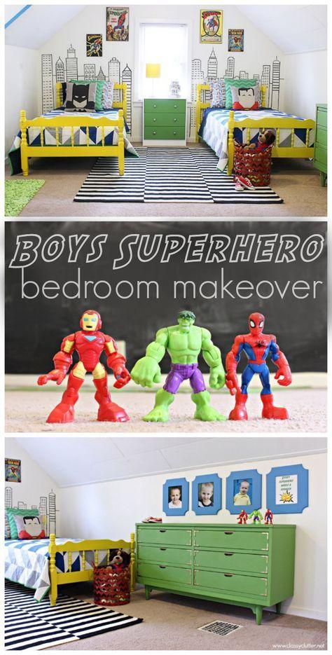 Boys Superhero Bedroom: 11 Best Images About A Henry Danger Kid's Room! On Pinterest