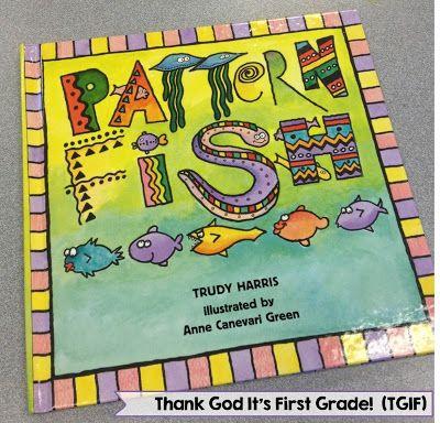 Pattern Fish! - TGIF! - Thank God It's First Grade!