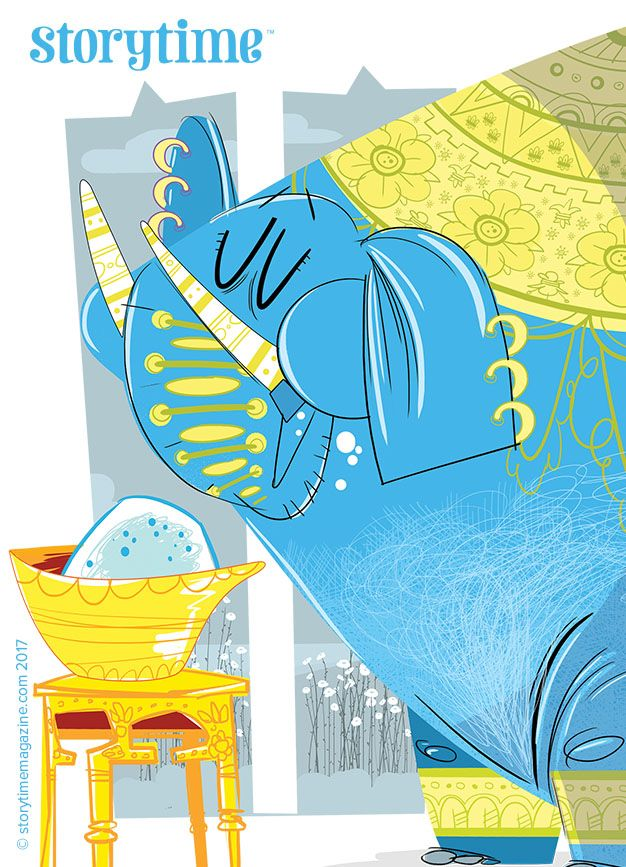The friendship fable, The Elephant and the Dog, from Storytime Issue 29 – a great lesson for kids and adults. Art by Pablo Olivero (http://pablolivero.blogspot.co.uk) ~ STORYTIMEMAGAZINE.COM