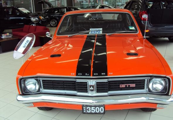 Australian beauty, the 1969 Holden HT Monaro GTS 350 2 Door Coupe, Made in Australia by General Motors Holden.