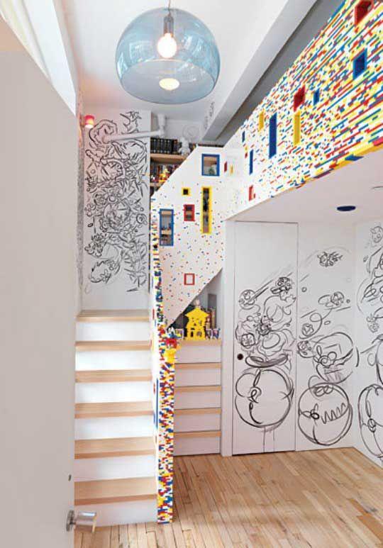 Lego Inspired Boys Room Design Ideas