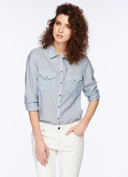 Getupfte Bluse kaufen |Pepe Jeans London