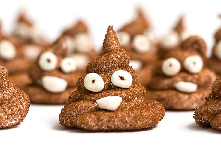 How to make Poop Peeps! DIY Chocolate Marshmallow Peeps that look like the poop emoji. Recipe and photography by Matthew Cetta