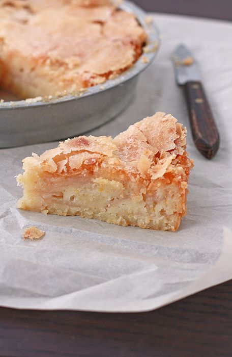 Apple Yogurt Cake.