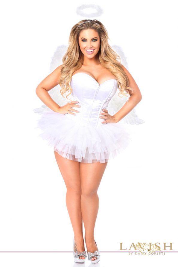 Sexy plus size women angel pics