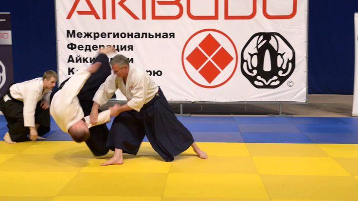 Рандори в исполнении Сэнсэя Поль Патрика Армана