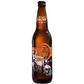 Cerveja Brasileira Amber Lager Backer Capitão Senra 600ml