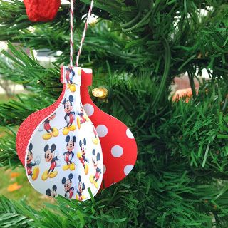 Disney Christmas Ornaments Crafts