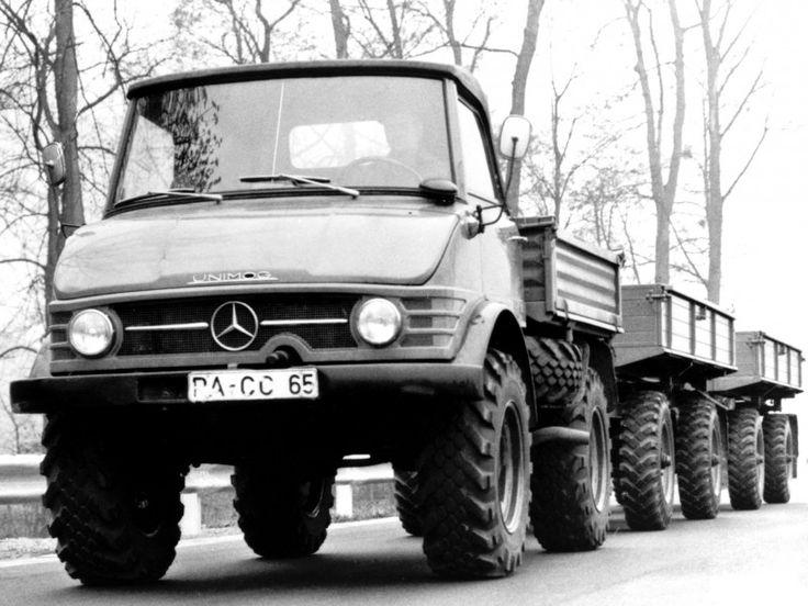 Unimog U65 406 1963-1966