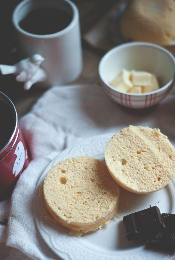 1Càs de farine de coco 1 oeuf 1Càs de beurre fondu 1/4 de Càc de levure 1Càc de lait de soja
