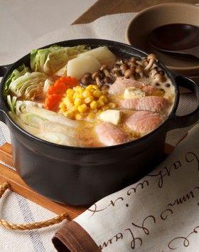 バター好きの♪鮭とじゃがいもの簡単石狩鍋 by ラーマ♪ [クックパッド ...