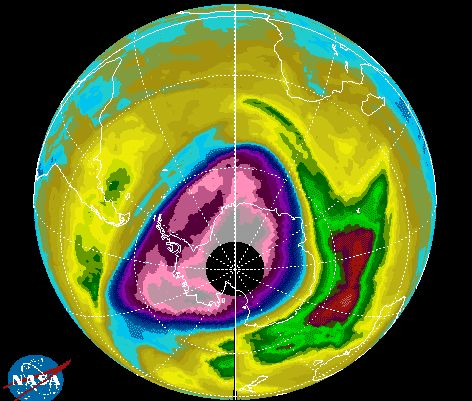Ozone layer is starting to repair itself