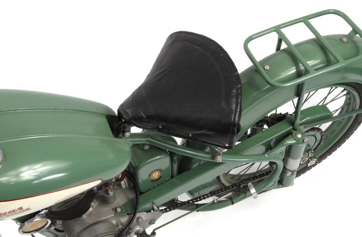 1952 Green BSA Bantam D1 125cc motorbike, 15871 recorded miles, registration - AJK 709, one ... in Saturday Collectiv... (17 Sep 16) by Eastbourne Auctions