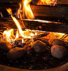 Výsledek obrázku pro brambory v popelu