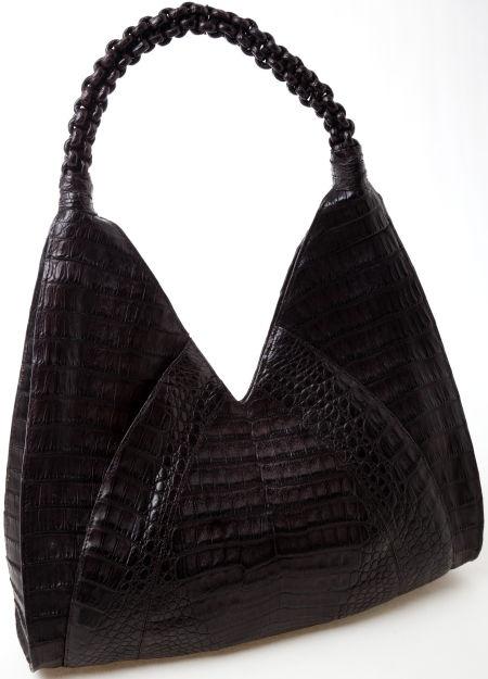 Heritage Vintage: Nancy Gonzalez Brown Crocodile Bag   I carry this bag daily..
