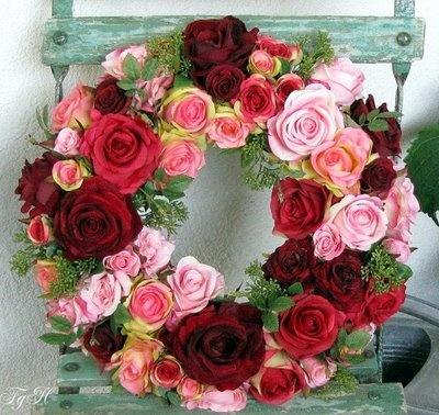 Frenchgardenhouse. #couronne de #fleurs