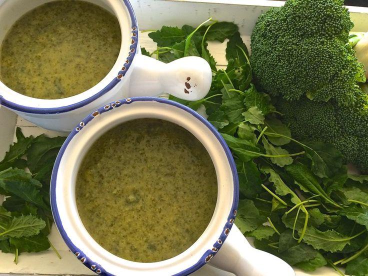 Kale and Broccoli Soup