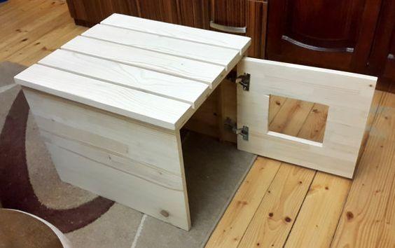 best 20 cat litter boxes ideas on pinterest cat boxes hidden litter boxes and litter box. Black Bedroom Furniture Sets. Home Design Ideas