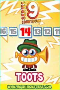 NEW! Toots @moshimonsters  Series 9