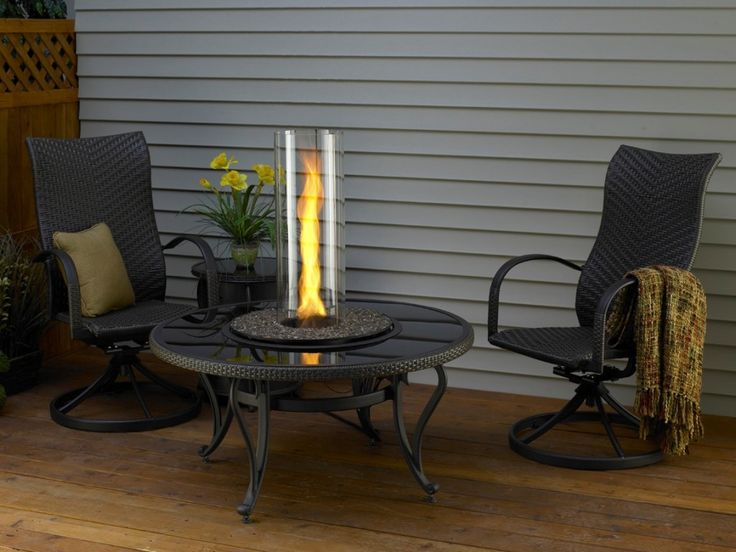 Elegant Table Top Fire Pit