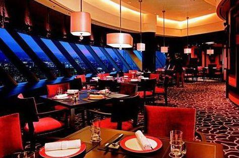Shangri-La's Far Eastern Plaza Hotel, Shanghai Pavilion, Upholstered dinning chair by Favrile #upholsteredchair