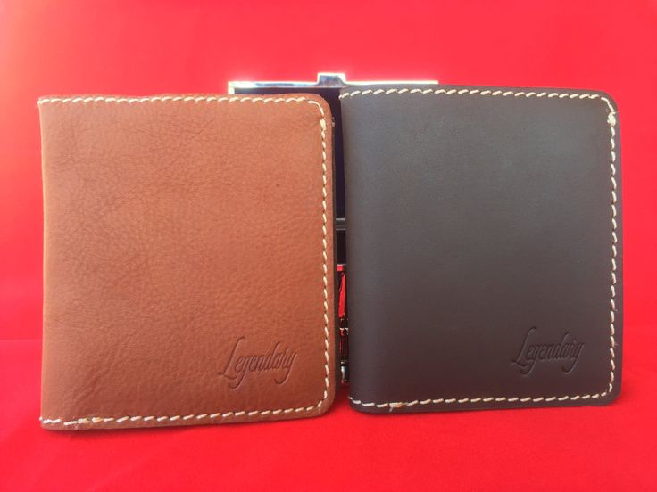 Large Bifold Brown Wallet By Legendary Leather **FREE EXPRESS DELIVERY** by…