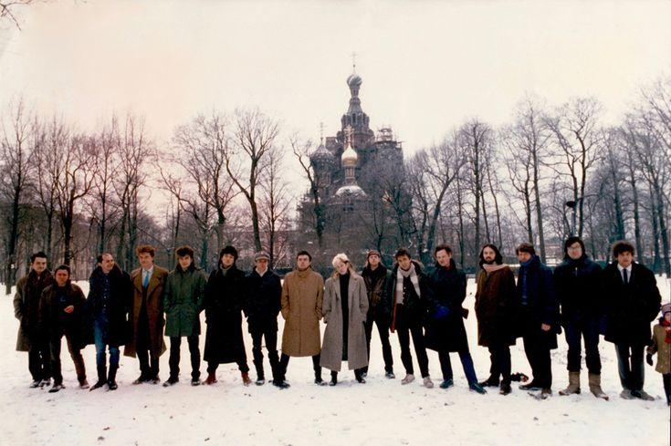 Редкие фото российский рок музыкантов из архива Джоанны Стингрей - Позитив из Города Солнца