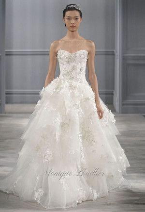 Abiti da sposa da sogno Monique Lhuillier 2014 http://www.nozzemag.it/abiti-da-sposa-da-sogno-monique-lhuillier-2014/ #abitidasposa #collezionesposa #sposa2014