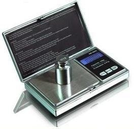 1 Digiweigh 100 Gram DIGITAL POCKET SCALE-Electronic Gadget w/CARATS, OUNCES & GRAINS Shipping Scale