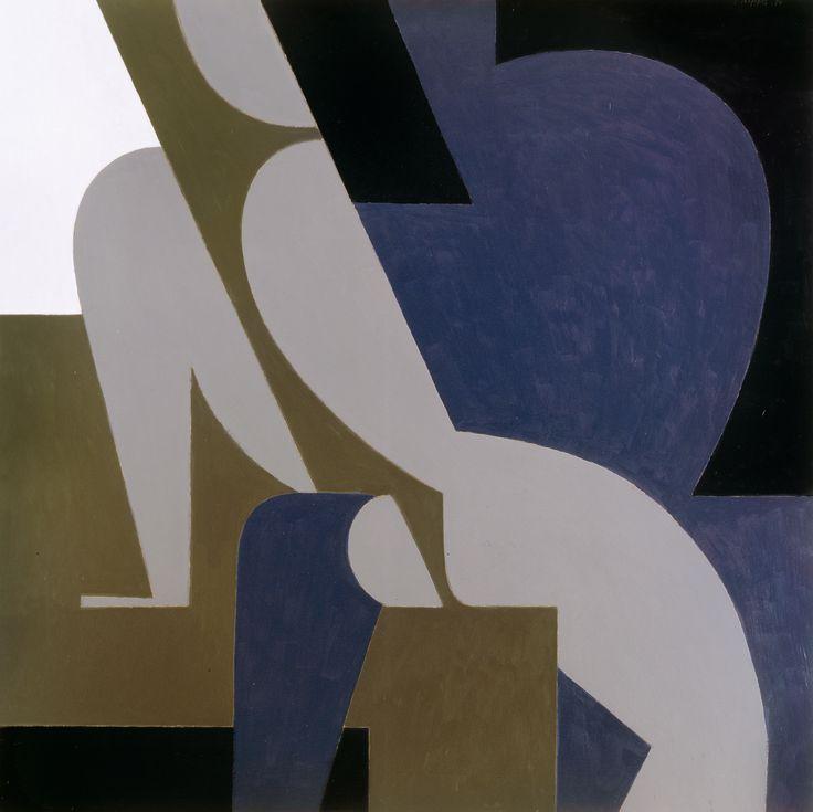Γιάννης Μόραλης Ερωτικό Λάδι σε καμβά 130 x 130 εκ. 1994
