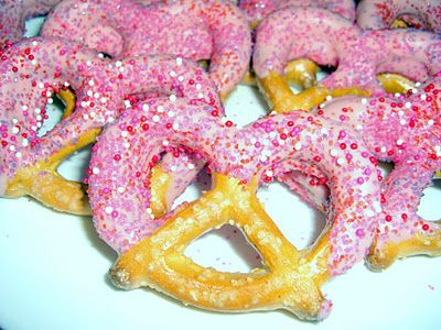 Covered Pretzels, Valentine Day, Pretzels Tutorials, Valentine ...