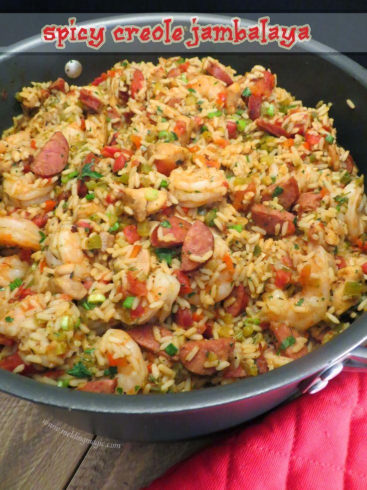 Spicy Creole Jambalaya