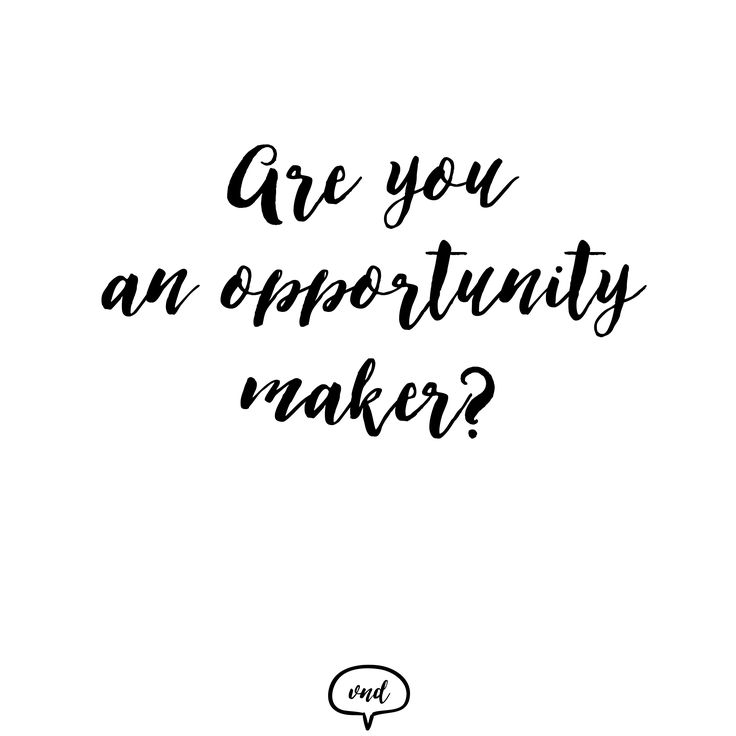 Are you an opportunity maker?  Visit us on: http://vndesign.hu/