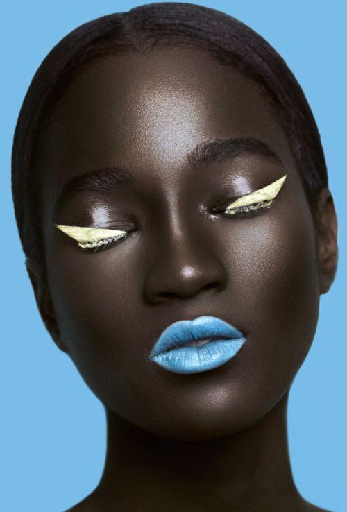 Melanin x Color: This Stunning Photo Series Sets Bright Makeup Against Dark Skin