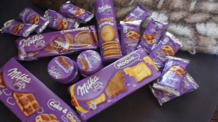 Simones Produkttest: Milka Kekse und Kuchen